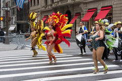 2016 Spaanse Dagparade in New York Stock Foto
