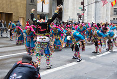 2016 Spaanse Dagparade in New York Royalty-vrije Stock Foto's