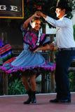Spaanse Dansende Vertoning stock afbeelding