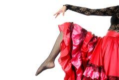 Spaanse danser Royalty-vrije Stock Foto's