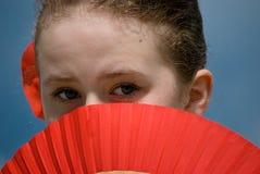 Spaanse danser Stock Foto's