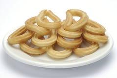 Spaanse doughnut stock foto