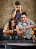 Spaanse Familie Stock Afbeelding