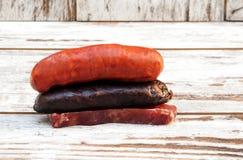 Spaanse fijne vleeswaren Stock Foto