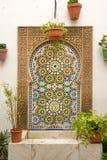 Spaanse fontein stock foto's