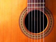 Spaanse gitaar Royalty-vrije Stock Afbeelding