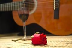 Spaanse gitaar Royalty-vrije Stock Afbeeldingen