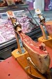 Spaanse ham royalty-vrije stock afbeelding