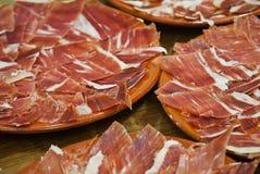 Spaanse Ham Stock Fotografie