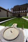 Spaanse het Nadenken Pool royalty-vrije stock afbeeldingen