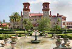 Spaanse Historische Bouwst Augustine Florida Royalty-vrije Stock Afbeeldingen