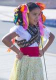 Spaanse Internationale Dagparade Stock Fotografie