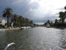 Spaanse jachthaven Stock Afbeelding