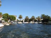 Spaanse jachthaven Stock Fotografie