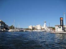 Spaanse jachthaven Stock Foto's