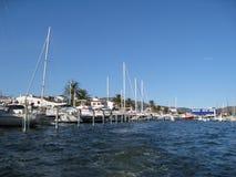 Spaanse jachthaven Royalty-vrije Stock Foto's