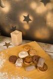 Spaanse Kerstmismantecado Royalty-vrije Stock Foto's
