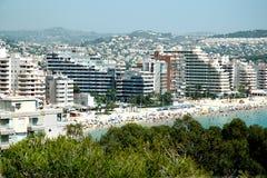 Spaanse kust stock afbeeldingen