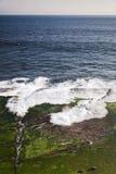 Spaanse kust van Tarifa Royalty-vrije Stock Foto's