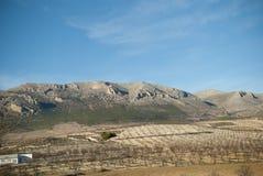 Spaanse landschappen Royalty-vrije Stock Afbeelding