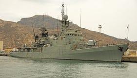 Spaanse Marine, Cartagena Stock Foto's