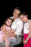 Spaanse Moeder en Dochters Royalty-vrije Stock Afbeeldingen