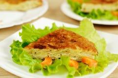 Spaanse nationale schotel - tortilla royalty-vrije stock foto's