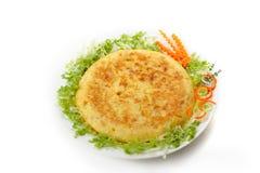 Spaanse omelet 03 stock fotografie
