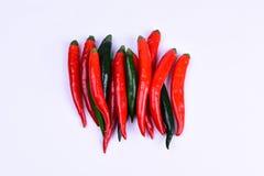 Spaanse peper Royalty-vrije Stock Foto's