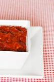 Spaanse peper dichte omhooggaand Royalty-vrije Stock Afbeeldingen
