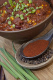 Spaanse peper en kruiden Royalty-vrije Stock Foto