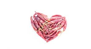 Spaanse peper en peper Stock Afbeeldingen
