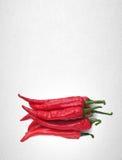 Spaanse peper of Roodgloeiende Spaanse peperpeper op achtergrond Royalty-vrije Stock Fotografie