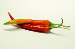 Spaanse peper twee Royalty-vrije Stock Afbeelding