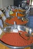 Spaanse peper van Verschillende soorten Stock Afbeelding