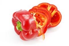 Spaanse peperplakken Royalty-vrije Stock Afbeeldingen