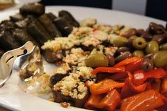 Spaanse pepers en gevulde data Stock Afbeelding