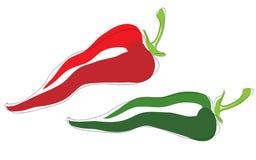 Spaanse peperspeper Stock Afbeelding