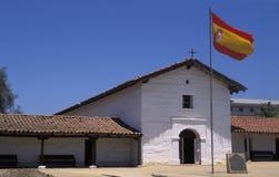 Spaanse Presidio in Santa Barbara, Californië stock afbeeldingen