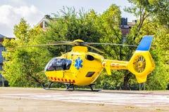 Spaanse reddingshelikopter Royalty-vrije Stock Foto