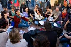 Spaanse Revolutie Mei 2011 Stock Foto