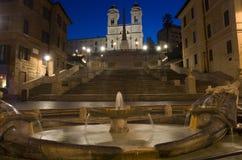 Spaanse 's nachts Stappen Stock Fotografie