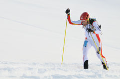 Spaanse skikampioen Kilian Jornet i Burgada Stock Afbeeldingen