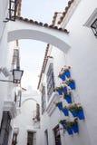 Spaanse stad (Poble Espanyol) - architecturaal museum onder de open hemel Royalty-vrije Stock Foto's