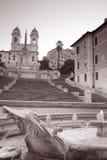 Spaanse Stappen in Rome royalty-vrije stock fotografie