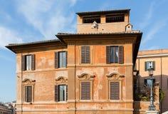 Spaanse Stappen in Rome royalty-vrije stock afbeeldingen