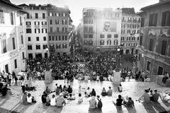 Spaanse Stappen, Rome Royalty-vrije Stock Foto's