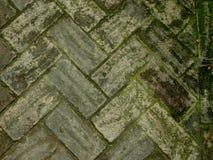 Spaanse Steen Paviment Stock Foto's