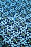 Spaanse Tegel in Pool Royalty-vrije Stock Afbeelding