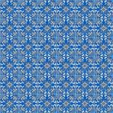 Spaanse tegels stock illustratie